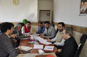 جلسه کمیسیون برنامه و بودجه شورای اسلامی شهر ملارد